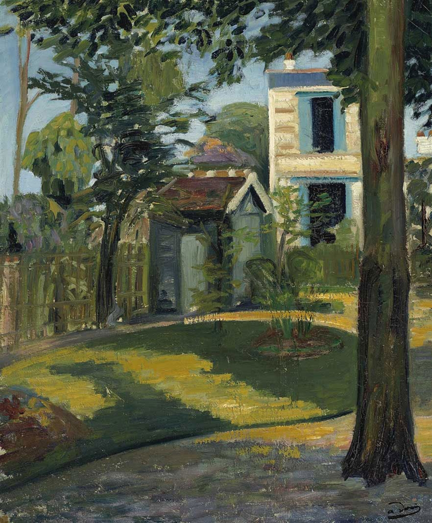 Art contrarian some andr derain landscapes for Jardin 64