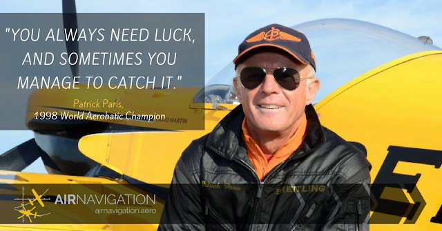 World Aerobatic Champion Patrick Paris