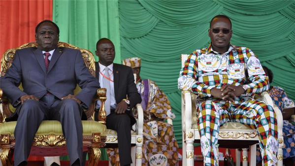 Soldados detiveram o presidente transitório de Burkina Faso