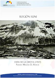 Región Suni Vista de la Oroya (1927)