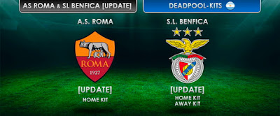 AS ROMA & SL BENFICA KITS [UPDATE] by DEADPOOL