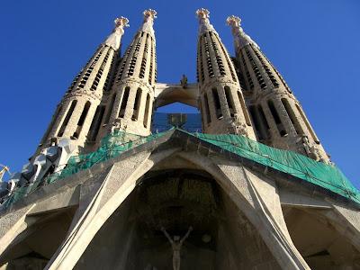 Sagrada Familia Basilica in Barcelona