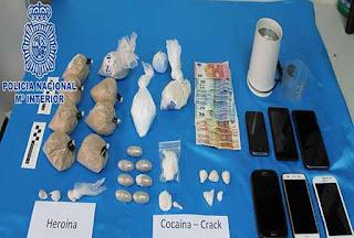 Desarticulan organización criminal  en Los Tarahales,Las Palmas de Gran Canaria