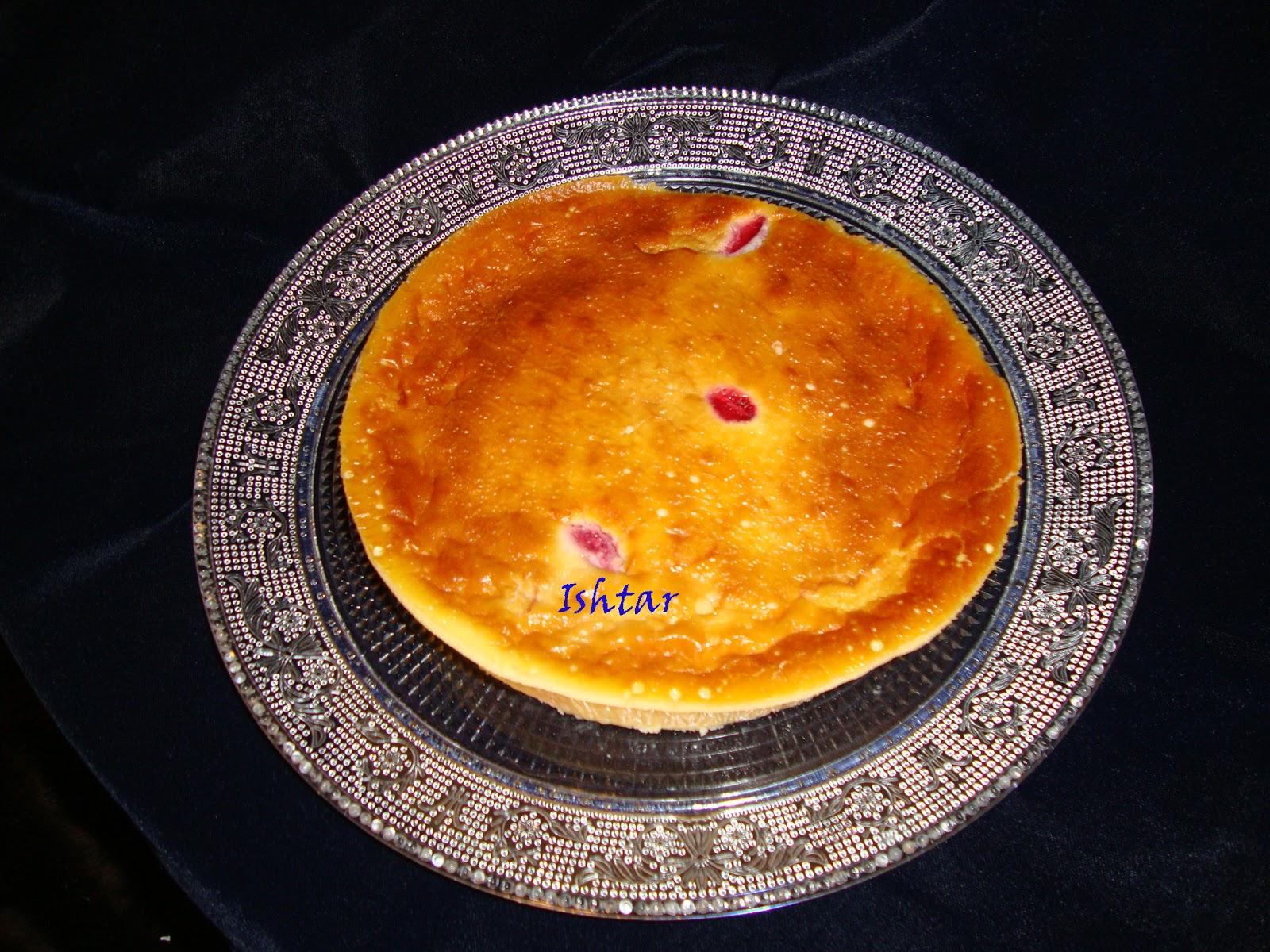 Tarta de queso con alm%C3%ADbar de f