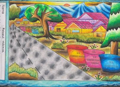 Gambar Mewarnai Lingkungan | Gambar | Pinterest | Coloring books