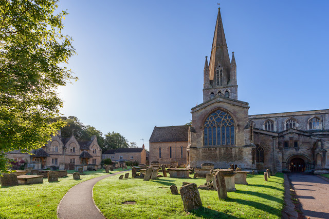 St Mary's church in the Oxfordshire town of Witney by Martyn Ferry Photography
