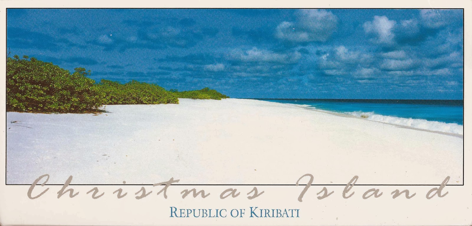 A Journey of Postcards: Christmas Island, Kiribati