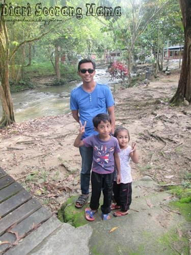 Sepetang di Sungai Congkak, Hulu Langat
