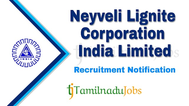 NLC Recruitment notification of 2019 - for Technician (Diploma) Apprentices - 170 post