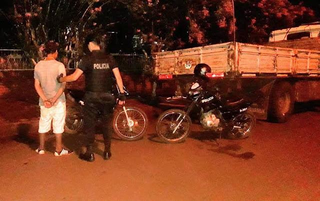 Policías detuvieron un joven por dos intentos de robo