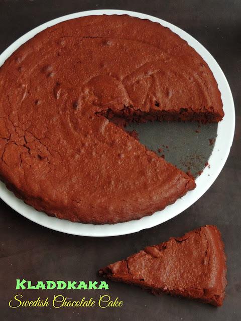 Kladdkaka,Swedish Chocolate Cake