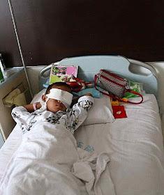 Guo Bin, criança de seis anos, teve os olhos arrancados pelo esquema de tráfico de órgãos do regime.