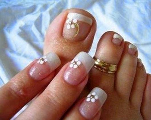 imagenes de uñas pintadas con decoraciones lindas