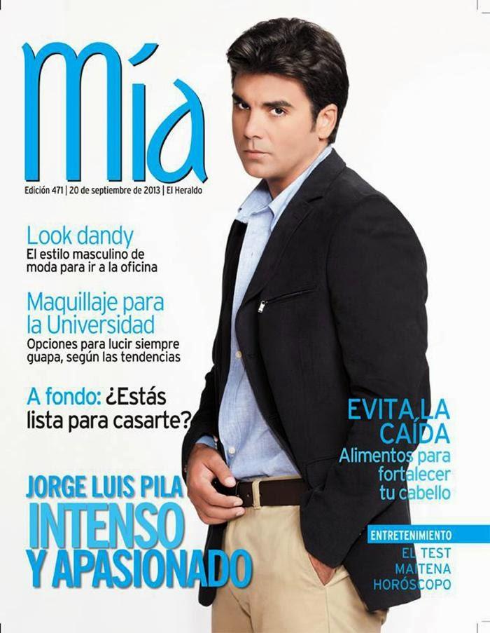 Jorge Luis Pila for Mia Magazine September 2013   Latina ...
