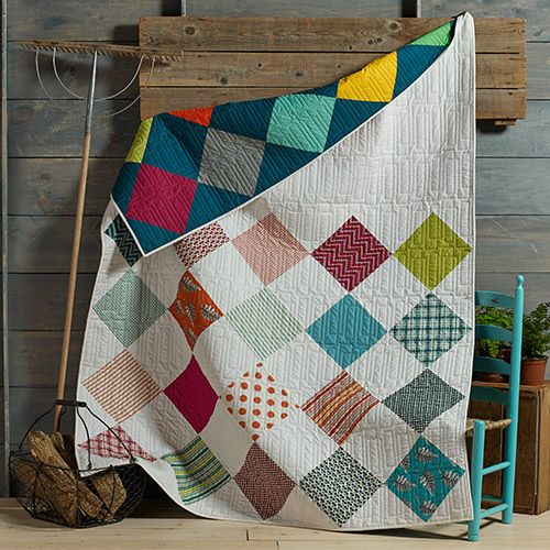 Franklin Square Dance Quilt Free Pattern