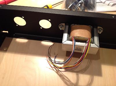 Threecircles Recording Studio 1176 build output transformer