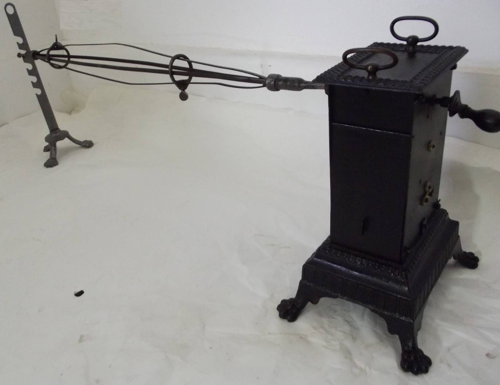 old spinning mechanical brooch umbrella basket rotisserie. Black Bedroom Furniture Sets. Home Design Ideas