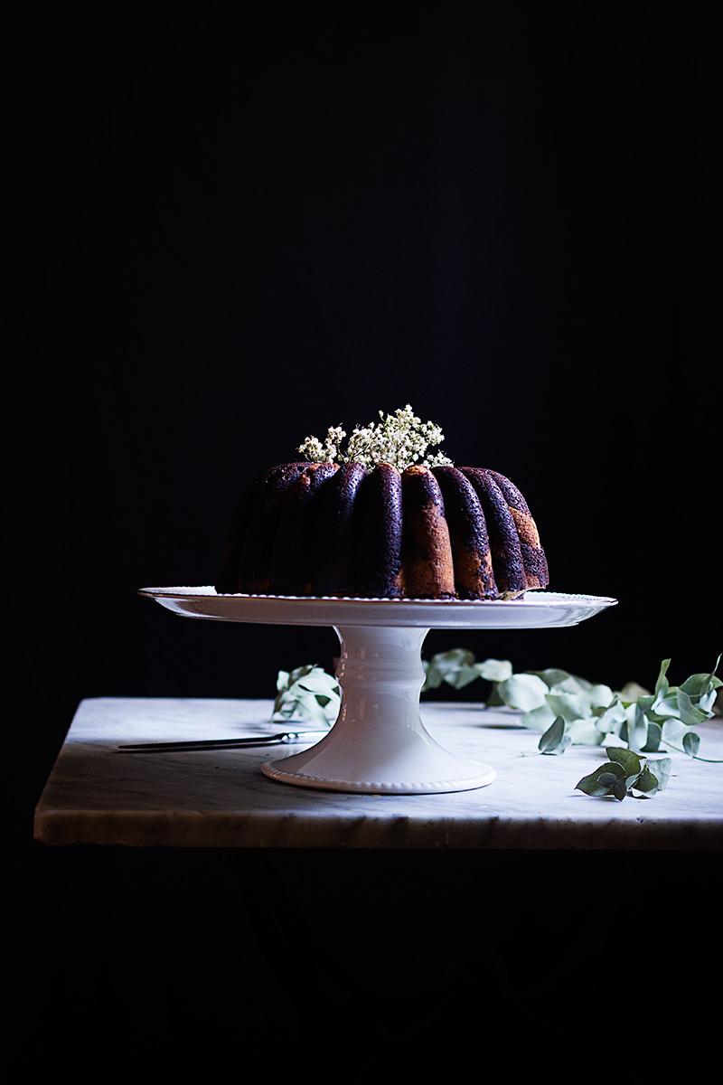 BUNDT CAKE MARMOLADO DE CHOCOLATE, MOKA Y VAINILLA