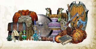 Tabelas de aprimoramento e materiais para armas, armaduras e escudos D&D 3.5