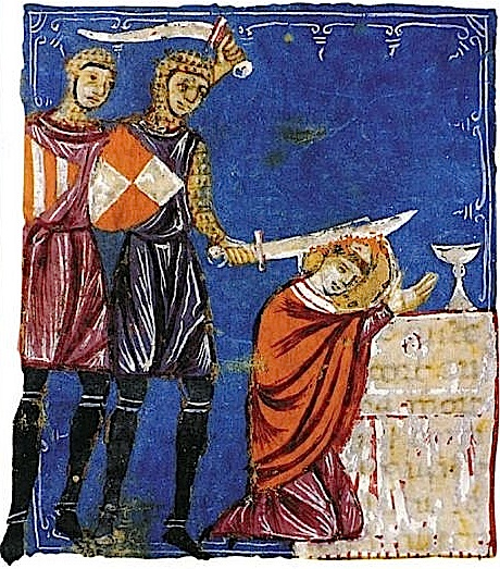 henry ii quarrel with beckett Theobald of bec, archbishop of canterbury, died after an illness henry ii was informed and he expressed the wish to have his friend thomas becket elected as archbishop.
