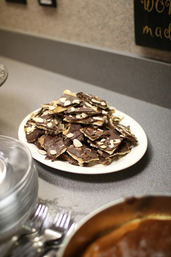 Matzah toffee during the Feast of Unleavened Bread and celebrating First Fruits | Land of Honey