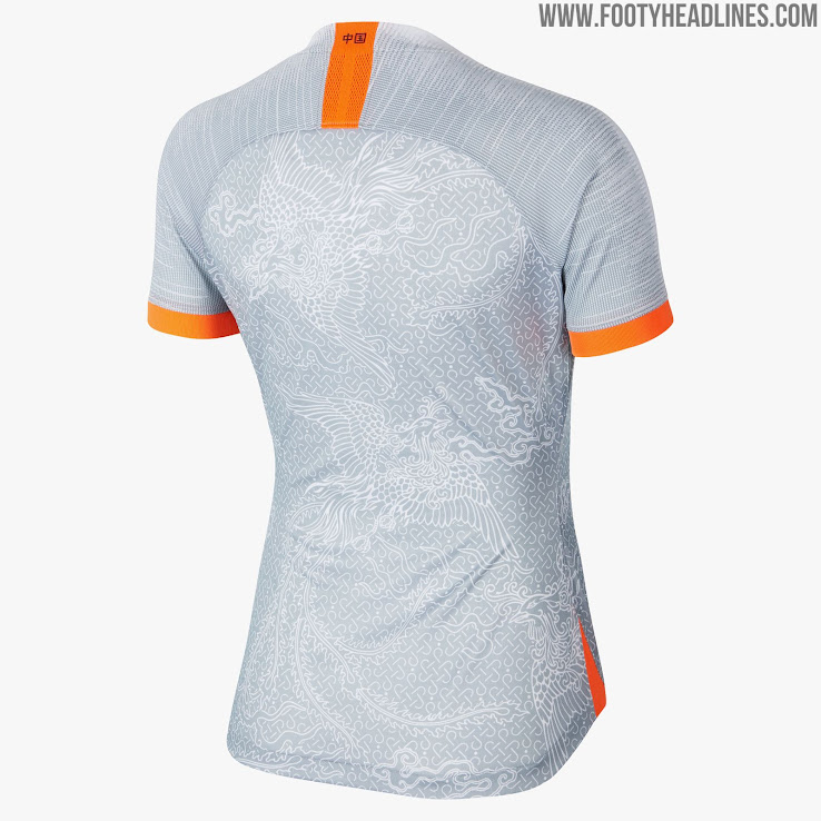 8b7d84be2 Spectacular Nike China 2019 Women s World Cup Away Kit Presented ...