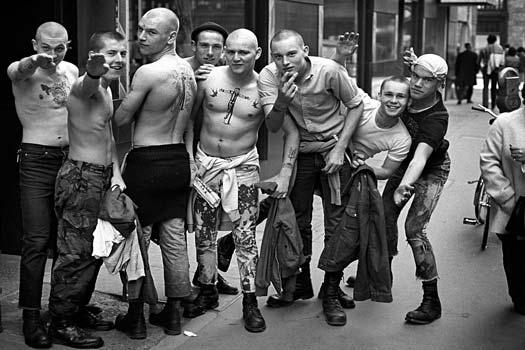 skinhead 8 Komunitas Punk Terkenal di Dunia