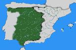 Mapa de la vertiente atlántica