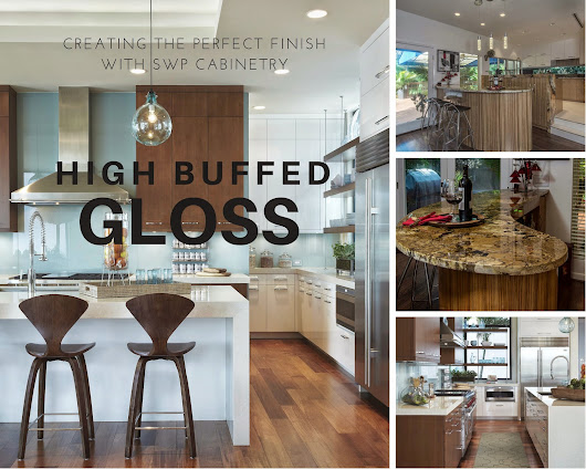 High Buffed Gloss Finish - SWP Cabinetry