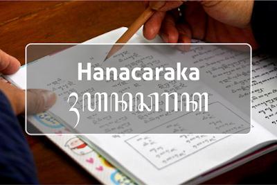 hanacaraka font