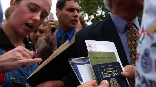 Trump endurece ingreso de argentinos a EEUU