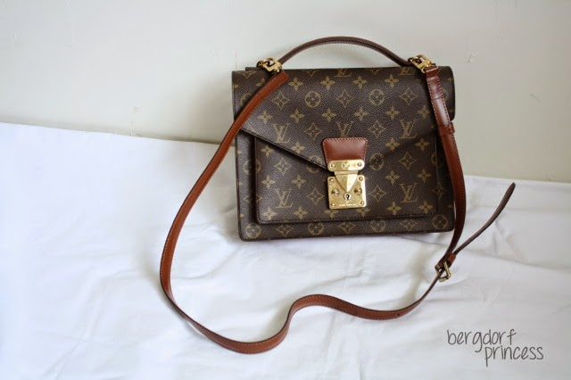 0c700042560a a stroke of fabulosity  vintage find  vintage louis vuitton monogram ...