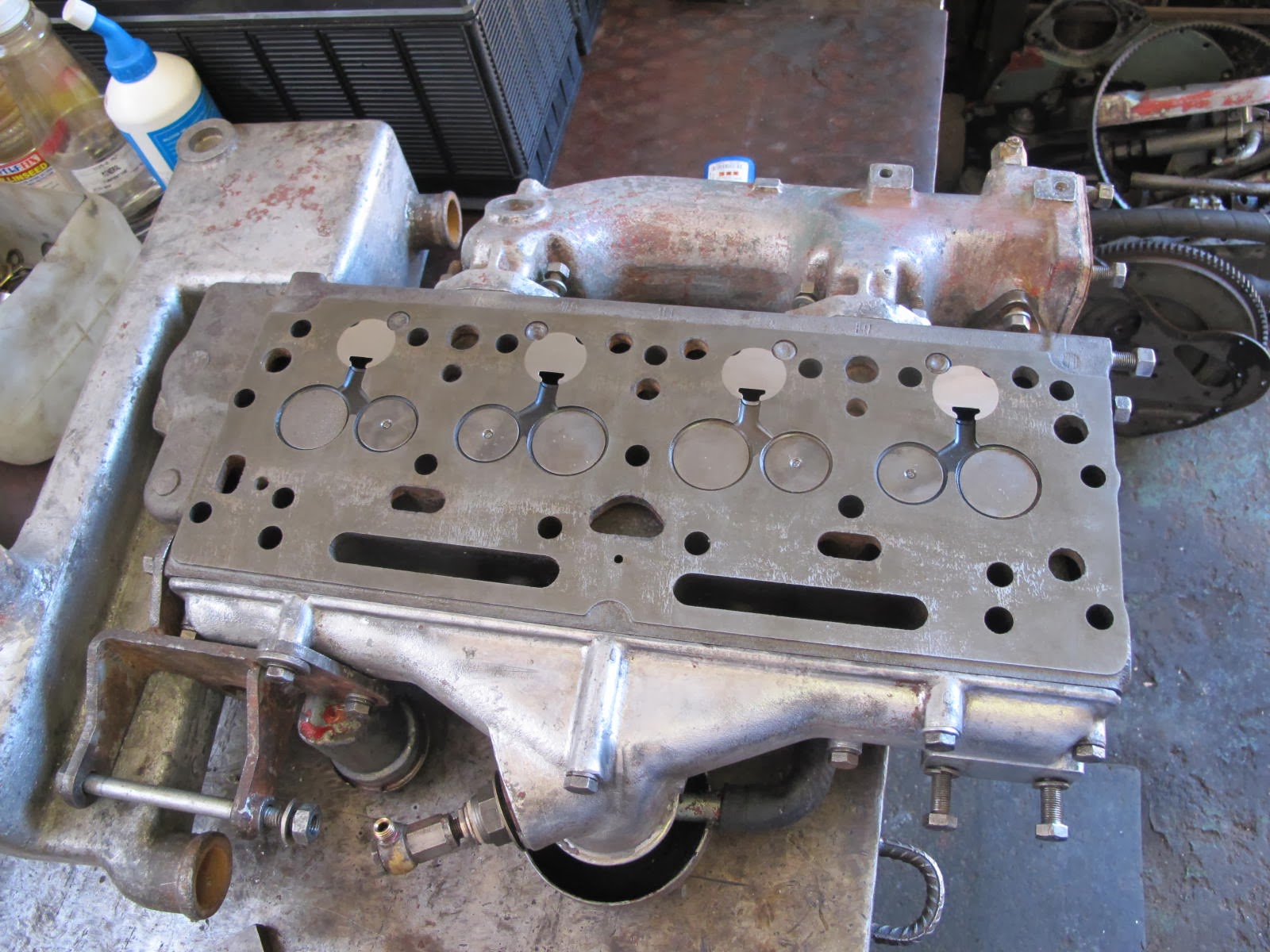 CKD Boats - Roy Mc Bride: Perkins 4108 marine engine rebuild