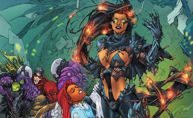 blackfire dc Musuh-musuh Teen Titans dalam Komik DC