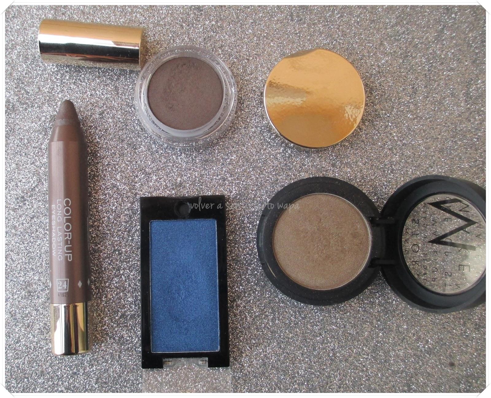 Favoritos de Maquillaje del 2014 - Sombras de Ojos - Volver a Sentirte to Wapa