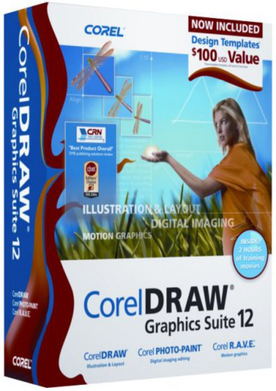 Download Corel Draw Graphics Suite 12 for PC free full version