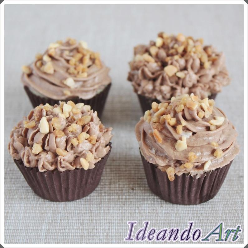Mini cupcakes Ferrero