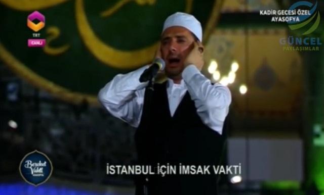 Video: Pertama Kali Laung Azan Dalam Hagia Sophia Selepas 85 Tahun