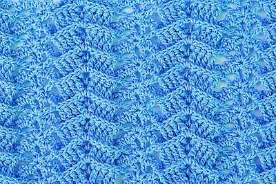 4 - Crochet IMAGEN Puntada a relive a crochet y ganchillo. MAJOVEL CROCHET