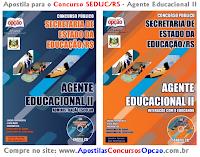 Apostila Concurso SEDUC Rio do RS - Agente Educacional II - 2014