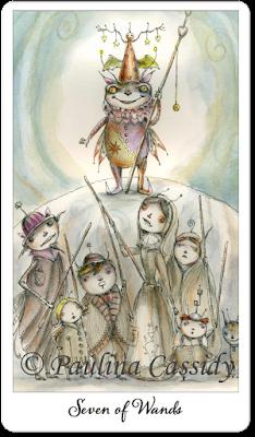Joie de Vivre Tarot Seven of Wands