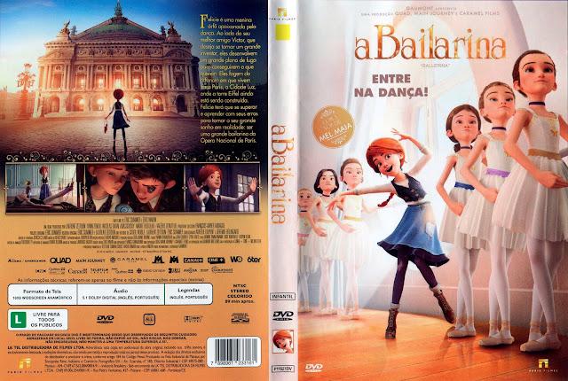 Capa DVD A Bailarina