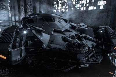 New Batmobile Batman v Superman Dawn of Justice poster wallpaper image picture still