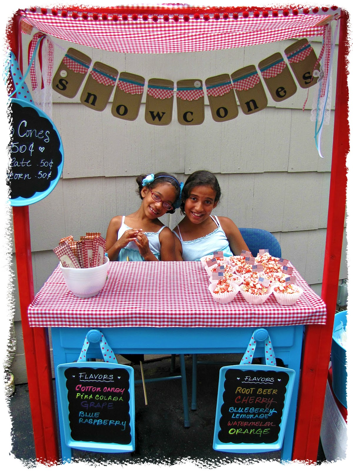 Raising Up Rubies Blog Simple Snow Cone Stand