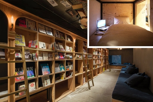 00-Architecture-in-the-Book-and-Bed-in-Tokyo-www-designstack-co
