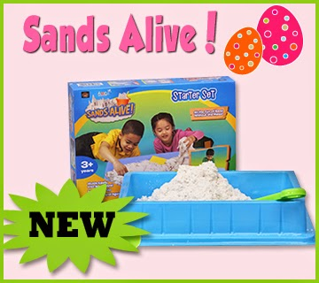 Sands Alive! Bring the sandbox inside!