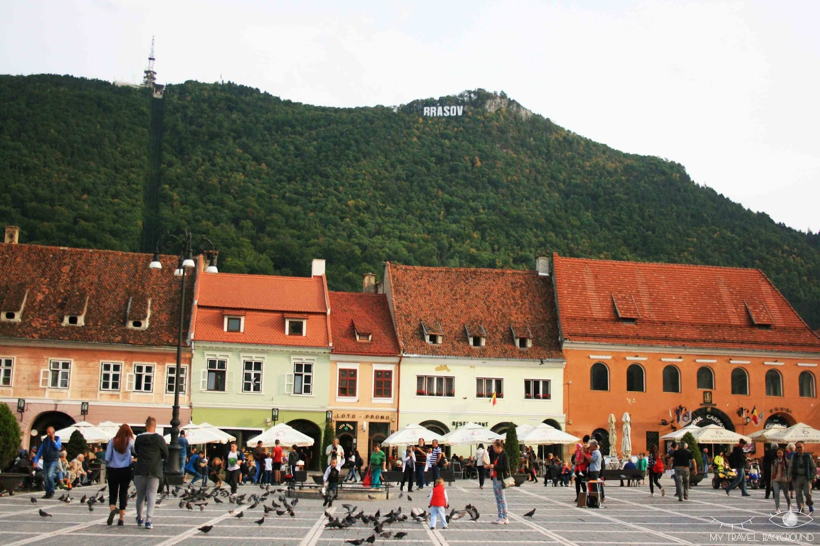 My Travel Background : cartes postales de Roumanie - Brasov