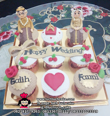 Cupcake Pertunangan Hantaran - Engagement Cupcake