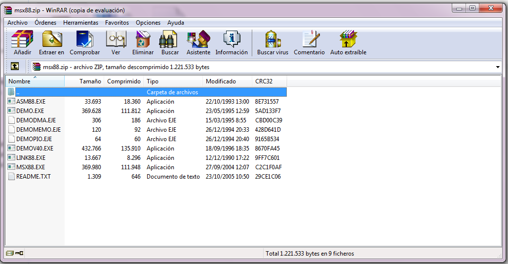 msx88 para windows 7