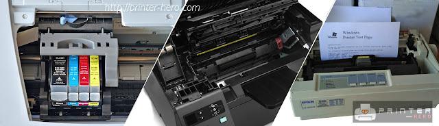 Perbedaan jenis-jenis printer sesuai kebutuhan dan fungsinya